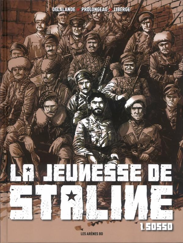 Couverture de La jeunesse de Staline -1- Sosso