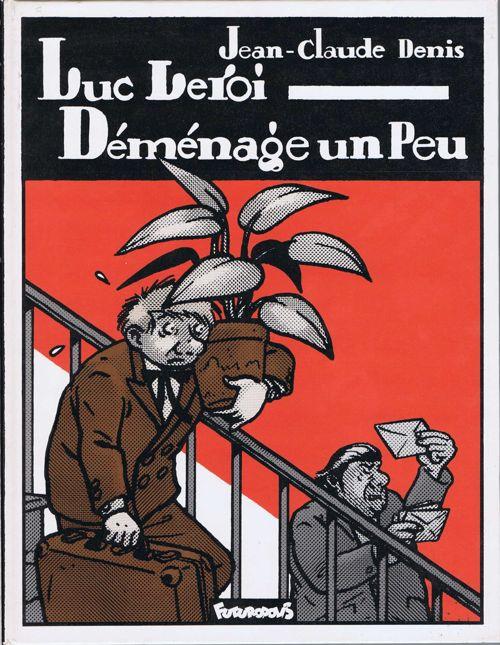 Couverture de Luc Leroi -1- Luc Leroi Déménage un Peu