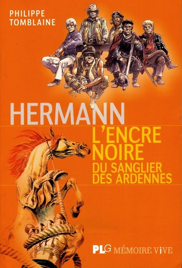 Couverture de (AUT) Hermann - Hermann, L'encre noire du Sanglier des Ardennes