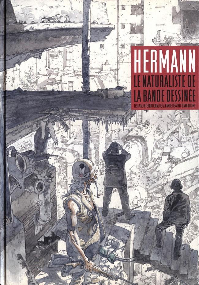 Couverture de (AUT) Hermann - Hermann - Le naturaliste de la bande dessinée