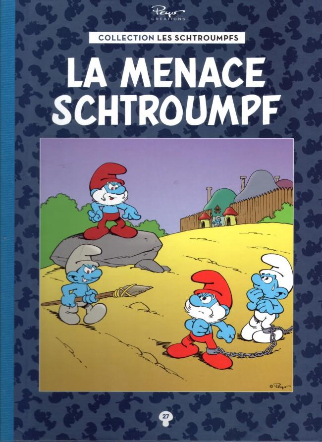 Couverture de Les schtroumpfs - La collection (Hachette) -27- La menace schtroumpf