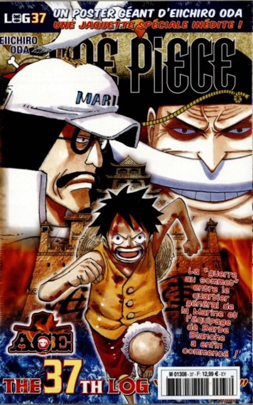 Couverture de One Piece - La collection (Hachette) -37- The 37th log