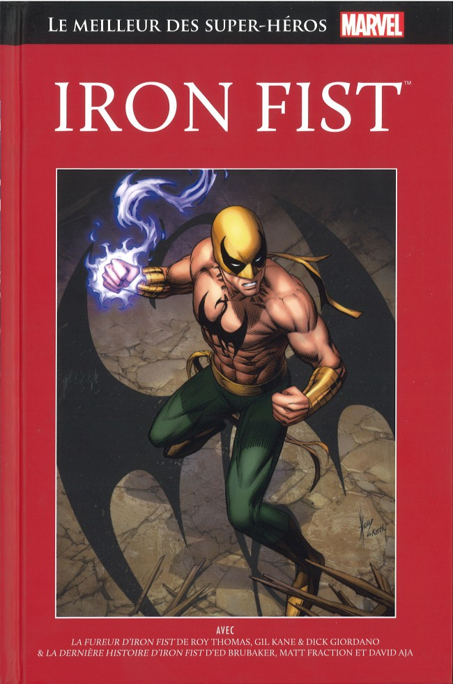 Couverture de Marvel Comics : Le meilleur des Super-Héros - La collection (Hachette) -28- Iron Fist