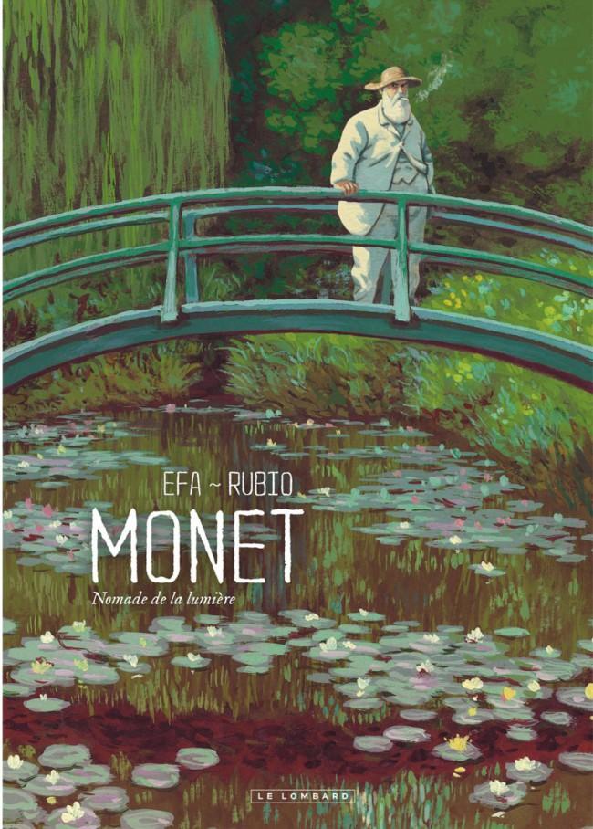 Couverture de Monet, nomade de la lumière