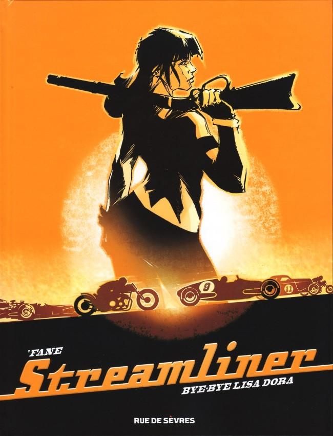 Couverture de Streamliner -1- Bye-Bye Lisa Dora