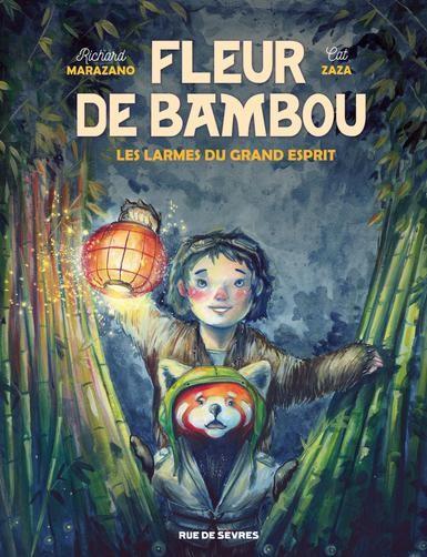 Couverture de Fleur de bambou -1- Les larmes du grand esprit