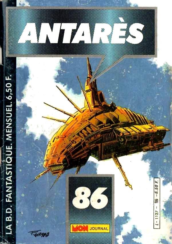 Couverture de Antarès (Mon Journal) -86- Précieuse cargaison
