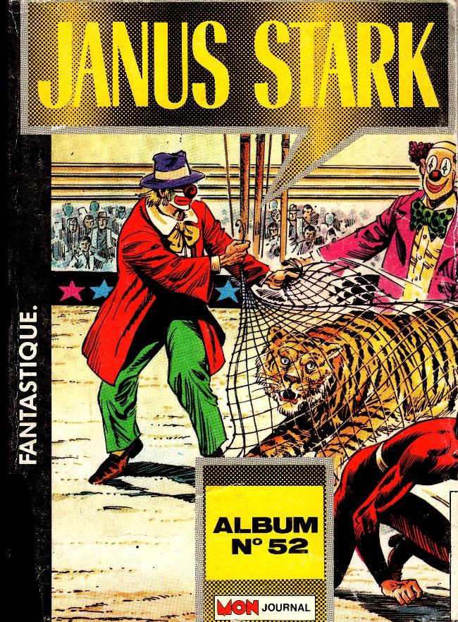 Couverture de Janus Stark -Rec52- ALbum n° 52 (n° 133-134-135)