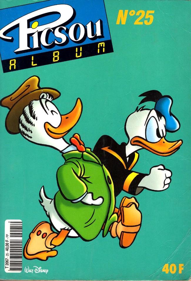 Couverture de Picsou Magazine -Rec25- (2e série) Recueil n°25 (n°310-312-313-314)