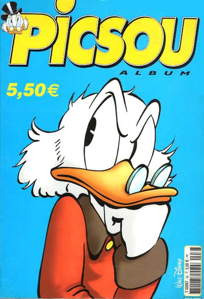 Couverture de Picsou Magazine -Rec38- (2e série) Recueil n°38 (n°362 à 364)