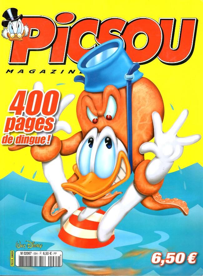 Couverture de Picsou Magazine -Rec69- (2e série) Recueil n°69 (n°491 à 493)