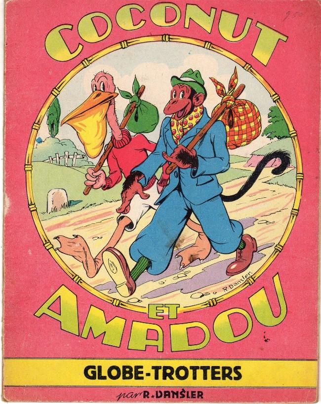 Couverture de Coconut et Amadou -1- Coconut et Amadou globe-trotters