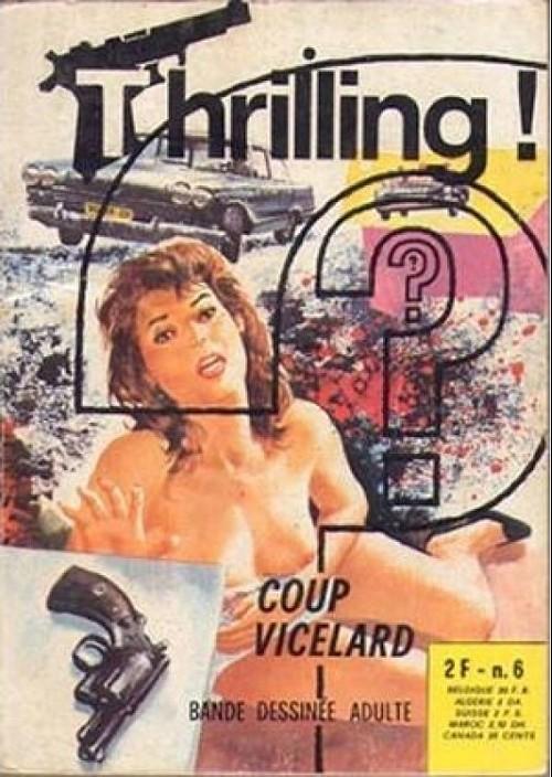 Couverture de Thrilling -6- Coup vicelard