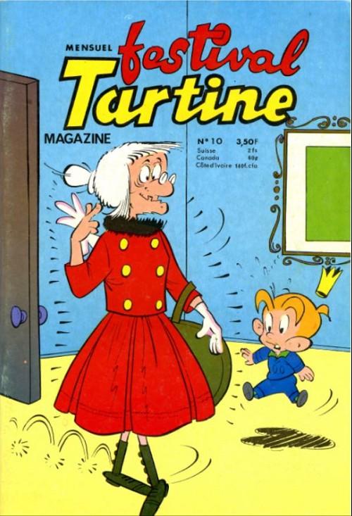 Couverture de Tartine (2e série) (Festival) -10- La reine des marrons