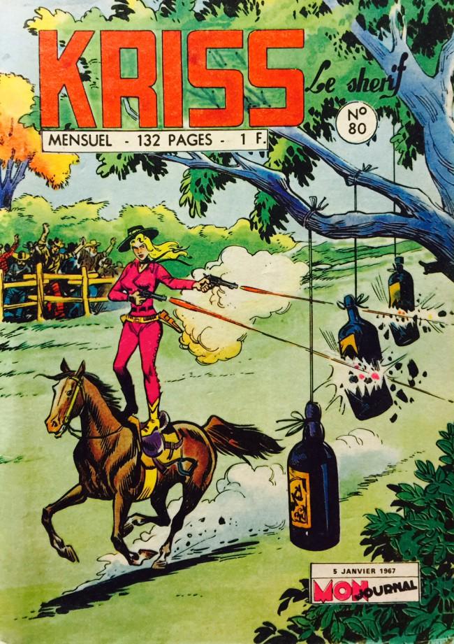 Couverture de Kris le shériff -80- Calamity Jane : coups de feu dans la nuit