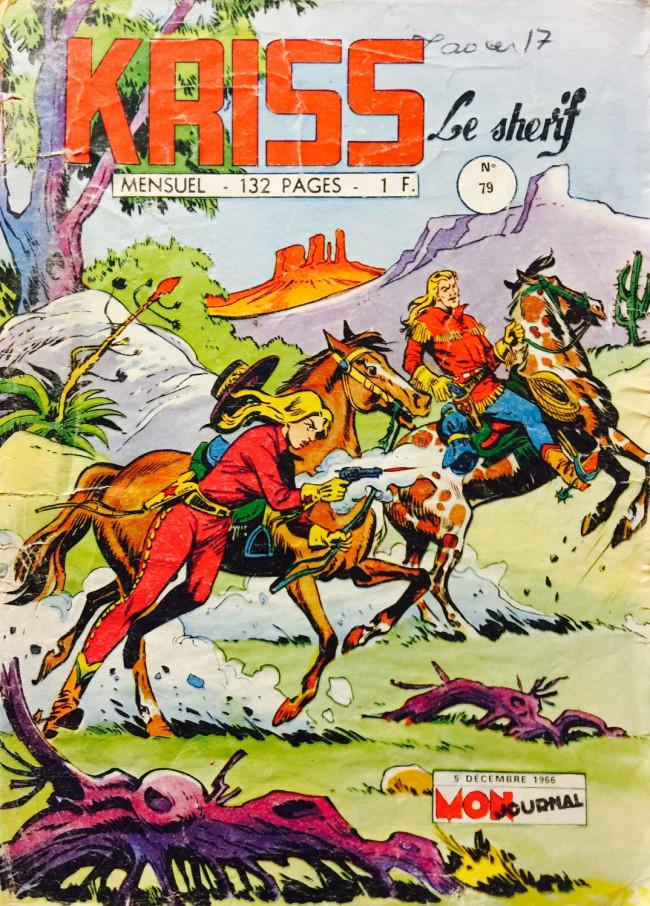 Couverture de Kris le shériff -79- Calamity Jane