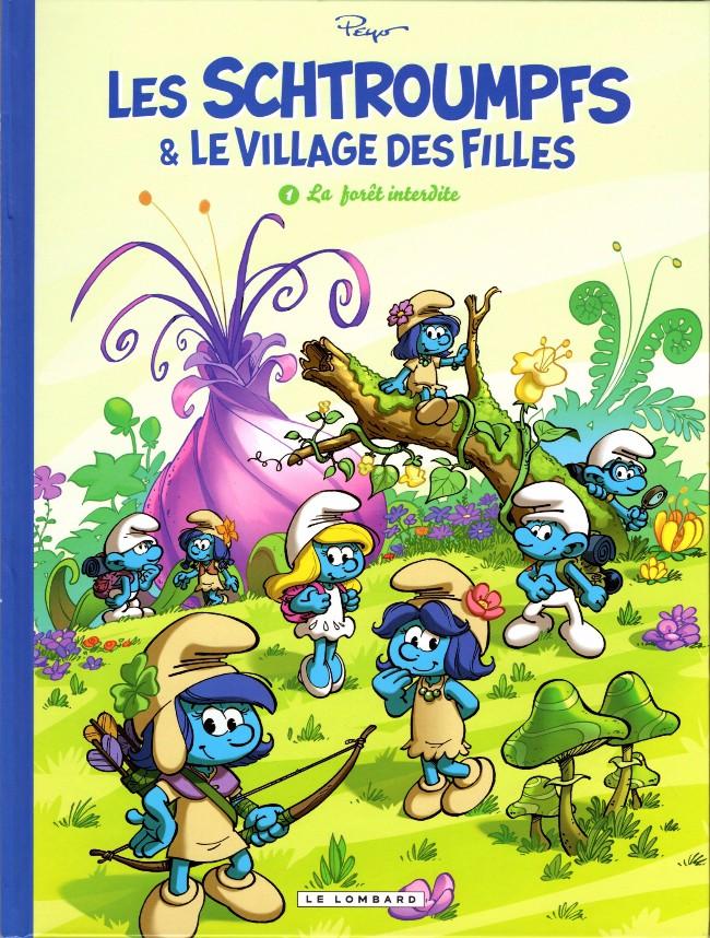 Les schtroumpfs et le village des filles - Tome 1