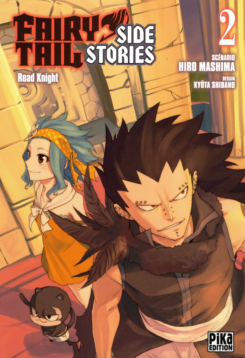 Couverture de Fairy Tail - Side Stories -2- Road Knight