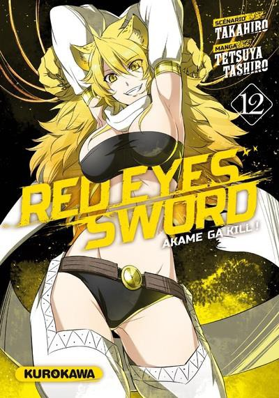 Couverture de Red eyes sword - Akame ga Kill ! -12- Tome 12