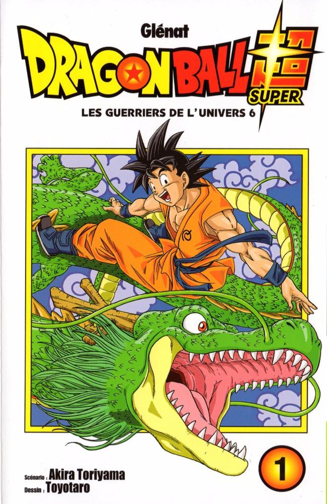 Couverture de Dragon Ball Super -1- Tome 1