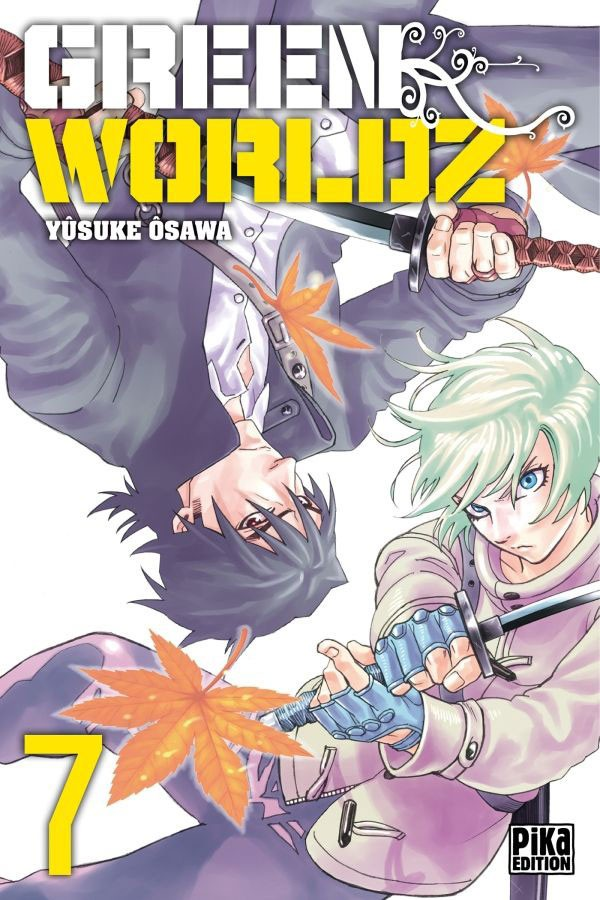 Couverture de Green Worldz -7- Tome 7