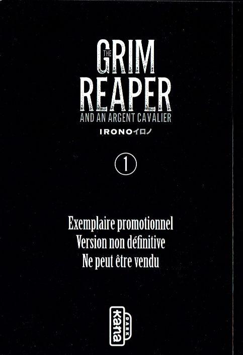 Couverture de The Grim Reaper and an argent cavalier -1sp- Tome 1