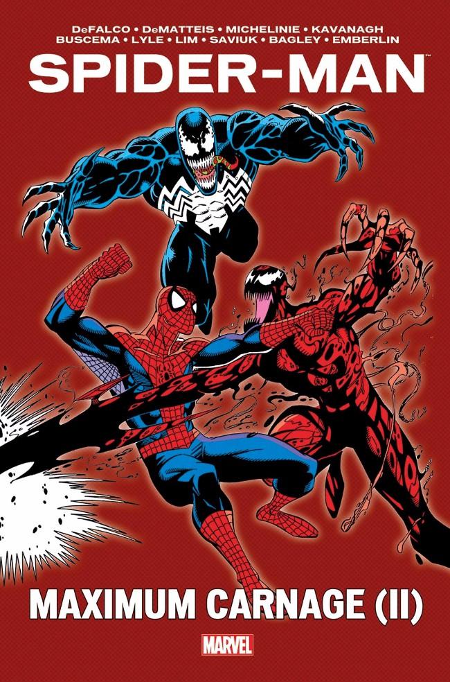 Couverture de Spider-Man - Maximum Carnage -2- Spider-Man - Maximum Carnage (II)