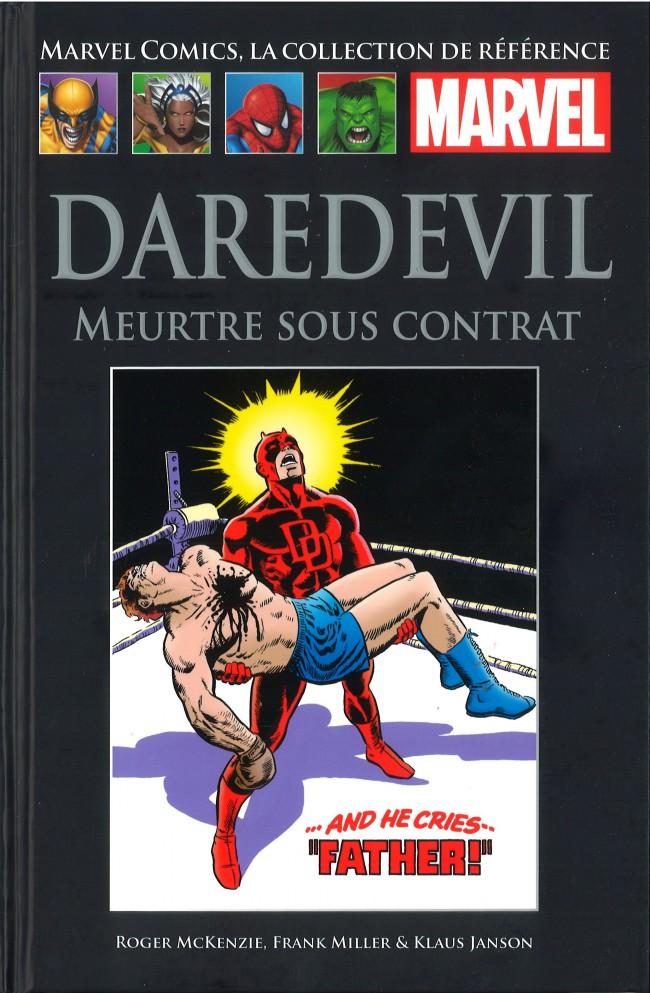 Couverture de Marvel Comics - La collection (Hachette) -82XXXVIII- Daredevil - Meurtre sous Contrat