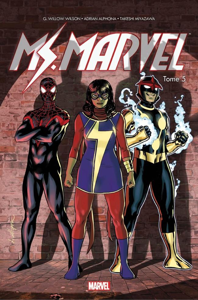 Couverture de Ms. Marvel -5- Guerre civile