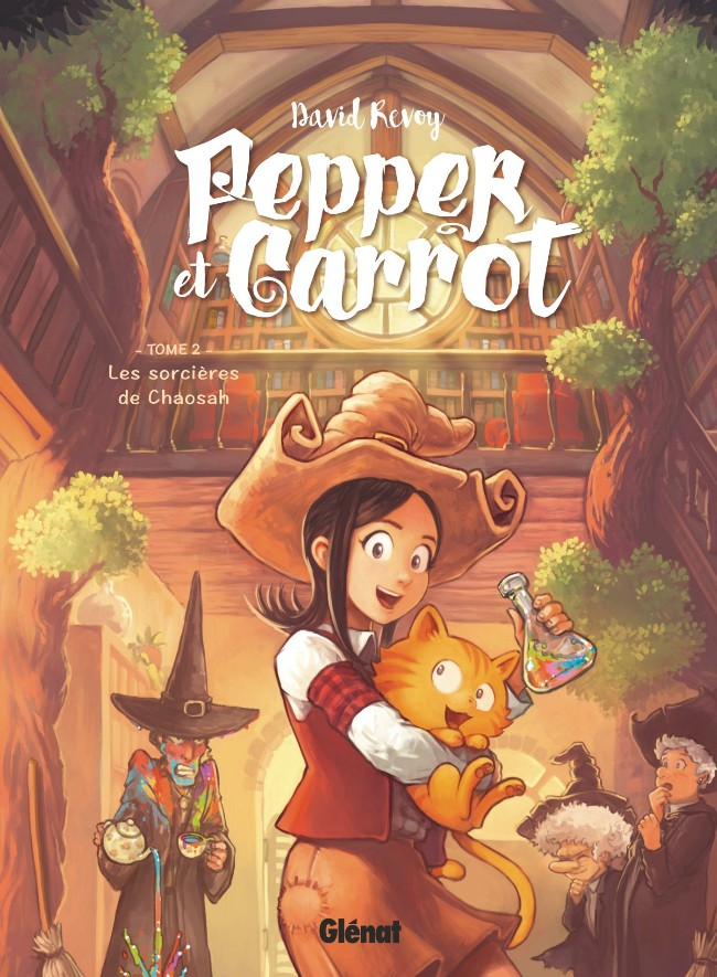 Couverture de Pepper et Carrot -2- Les Sorcières de Chaosah