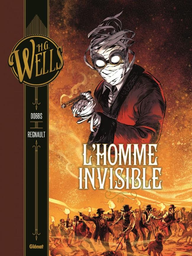 Couverture de L'homme invisible (Dobbs/Regnault) -2- L'Homme invisible 2/2