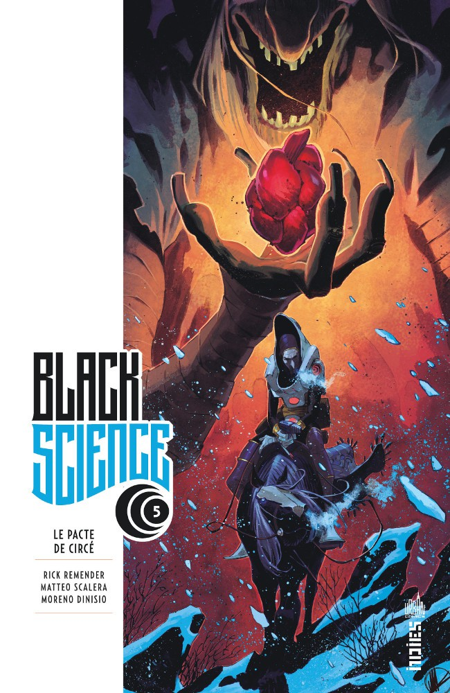 Couverture de Black Science -5- Le Pacte de Circé