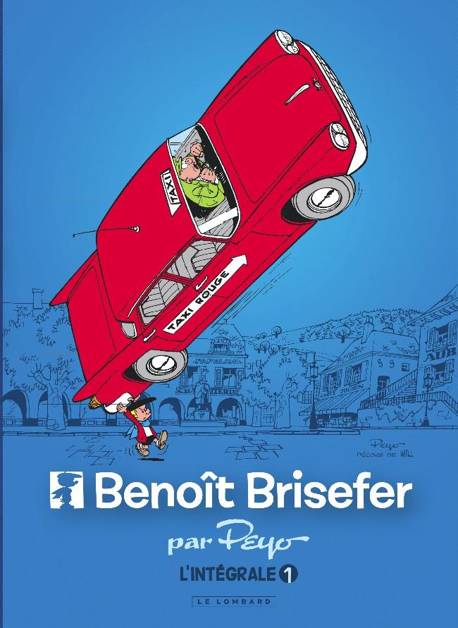 Couverture de Benoît Brisefer -INT1- Intégrale 1