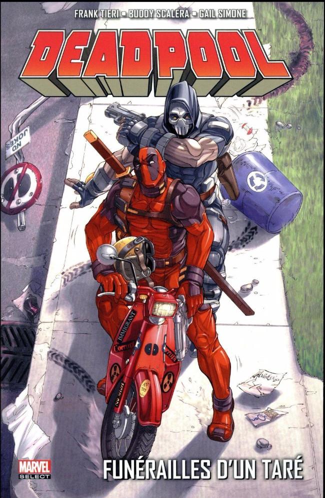 Couverture de Deadpool - Funérailles d'un taré