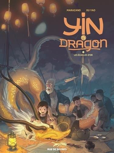 Couverture de Yin et le dragon -2- Les Écailles d'or