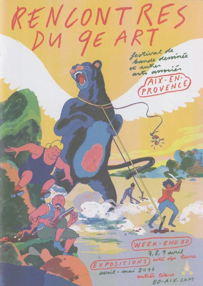 Couverture de (Catalogues) Éditeurs, agences, festivals, fabricants de para-BD... - Rencontres du 9é Art, Bd-Aix