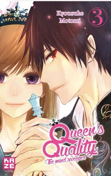 Couverture de Queen's quality, the mind sweeper -3- Tome 3