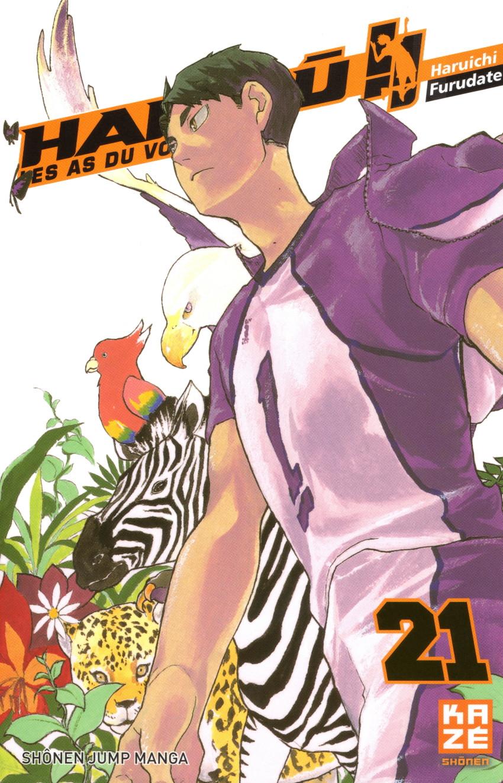 Couverture de Haikyu !! Les As du Volley -21- Tome 21