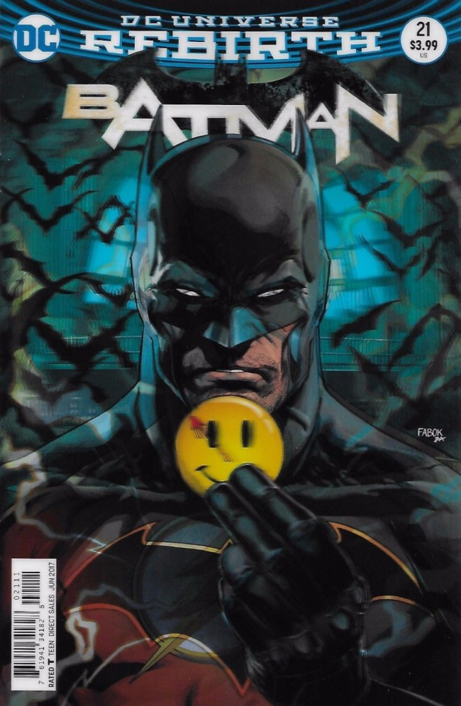 Couverture de Batman (2016) -21- The Button, Part One
