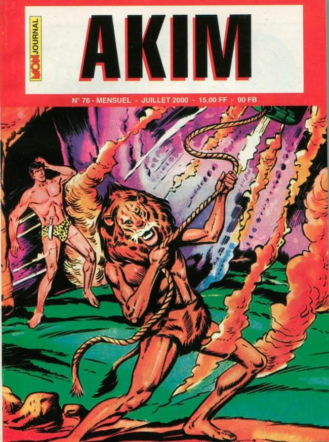 Couverture de Akim (2e série) -76- L'île aux loups