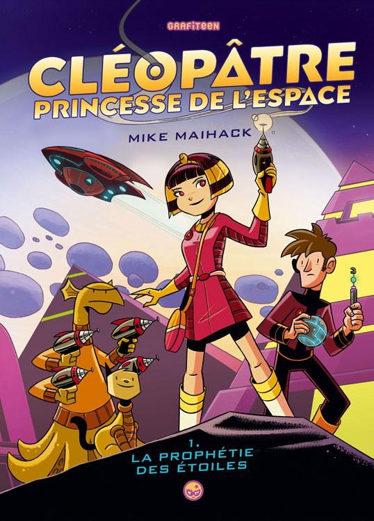 Couverture de Cléopâtre, Princesse de l'espace -1- La prophétie des étoiles