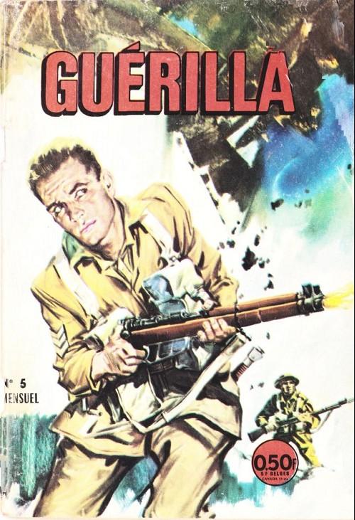 Couverture de Guerilla -5- La valeur du courage