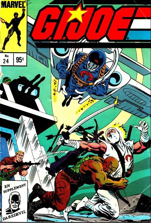 Couverture de G.I. Joe (Éditions héritage) -24- Le commandant s'évade