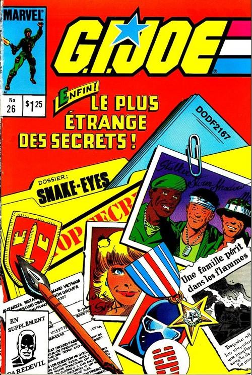 Couverture de G.I. Joe (Éditions héritage) -26- Snake-eyes - les origines