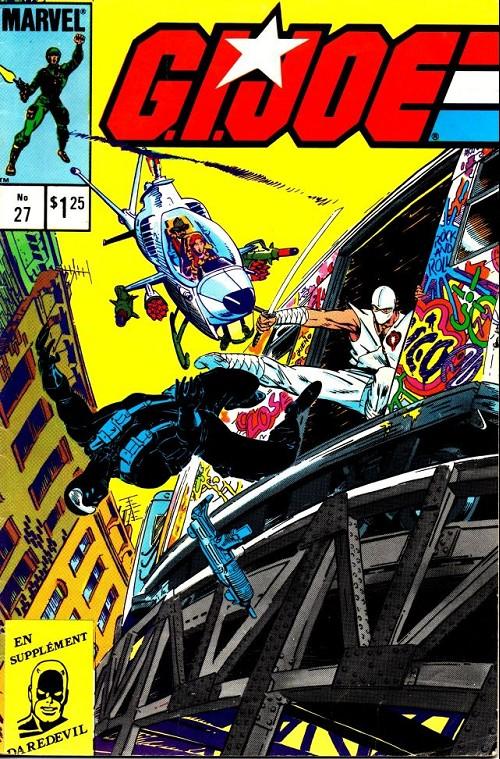 Couverture de G.I. Joe (Éditions héritage) -27- Snake-eyes