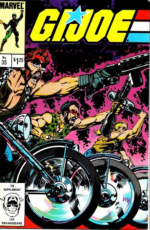 Couverture de G.I. Joe (Éditions héritage) -35- Dreadnoks en liberté
