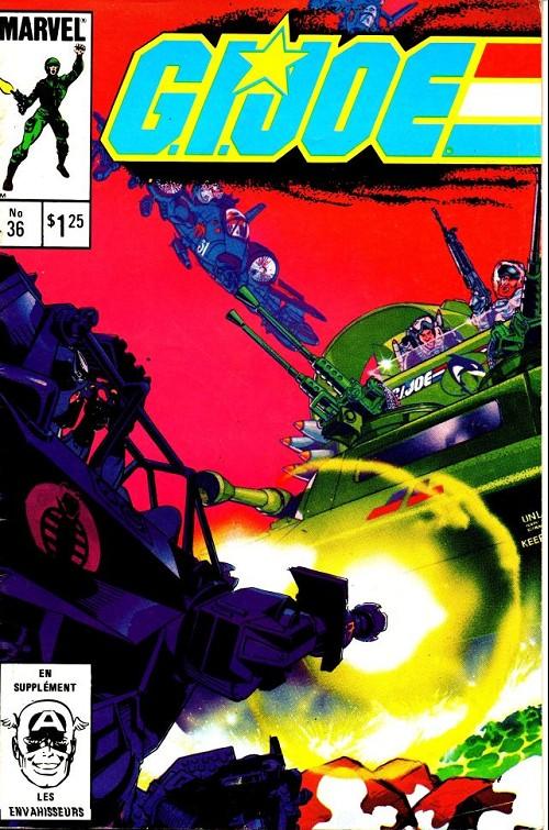 Couverture de G.I. Joe (Éditions héritage) -36- Tous les navires en mer!
