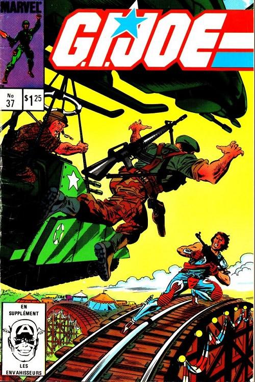 Couverture de G.I. Joe (Éditions héritage) -37- Les frères jumeaux