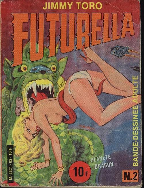 Couverture de Futurella -2- Planète dragon