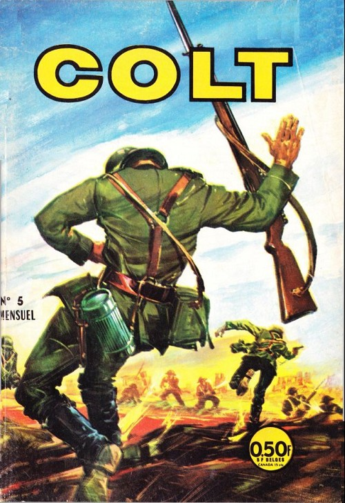 Couverture de Colt -5- Prise de guerre